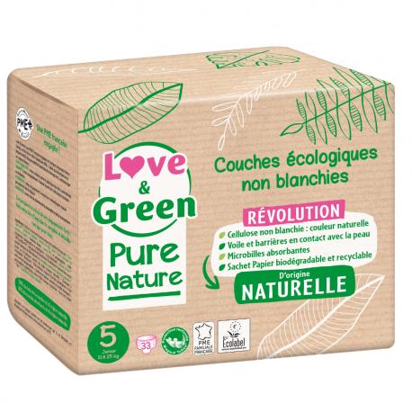 Couche Pure Nature T5 (11-25 kg)