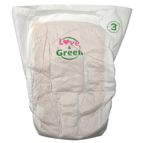 Pure Nature Diaper S3 (4-9 kg)
