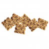 Spelt crackers with seeds in bulk Organic