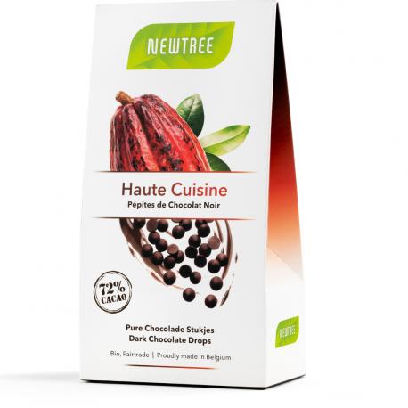 Pépites de chocolat noir Haute Cuisine 66% (200g) Bio Newtree