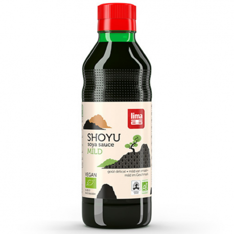 Lima Soy Sauce Shoyu organic 250ml