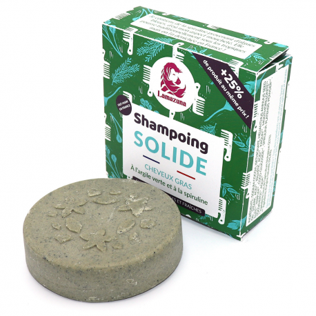 Shampoing solide cheveux gras Herbes Folles 55g