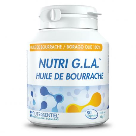 NUTRIGLA (bio) 500mg - Huile de bourrache, Nutrissentiel,