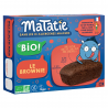 Chocolade brownie voor kinderen Bio