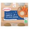 Wortel & Quinoa + 8 maanden Bio