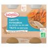 Wortel, Pompoen & Forel van Bretagne + 8 maanden Bio