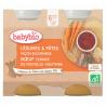 Groenten & Pasta Bolognese met Rundvlees + 6 maanden Bio