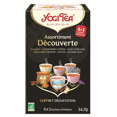 Sélection de thés 9x2pièces, YOGI TEA, Alimentation