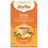Detox thee met citroen 17 zakjes Bio