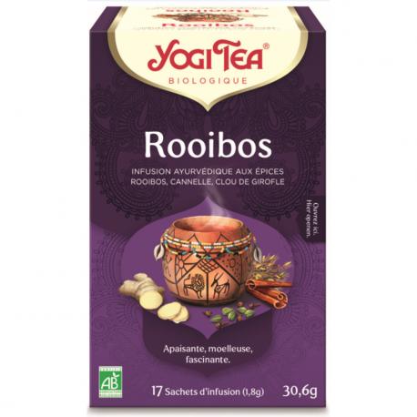 Rooibos 1x17 sachets, YOGI TEA, Thés et Tisanes