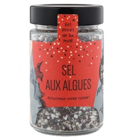 Bord-à-Bord - Sea Salt with Seaweed Organic 125g