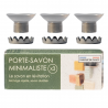 Pack of Minimalist Magnetic Soap Holders