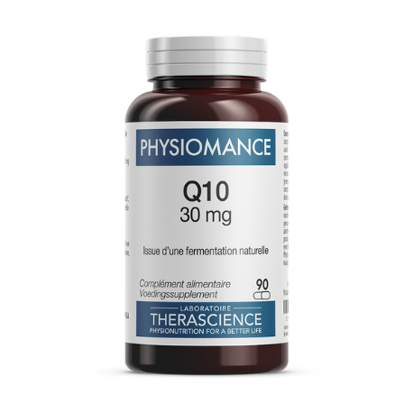 Q10 30mg (90 gél. ), Therascience, Compléments alimentaires.