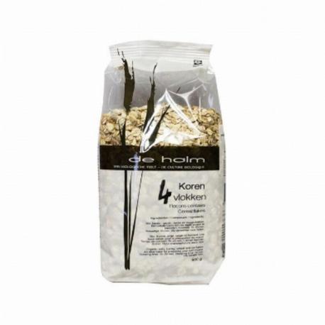 De Halm Flocons 4 céréales bio 500g, De Halm, Céréales Petit