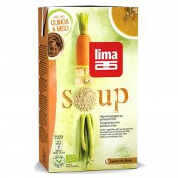 LIMA Soupe de légumes potagers au quinoa 1L, Lima, Soupes et
