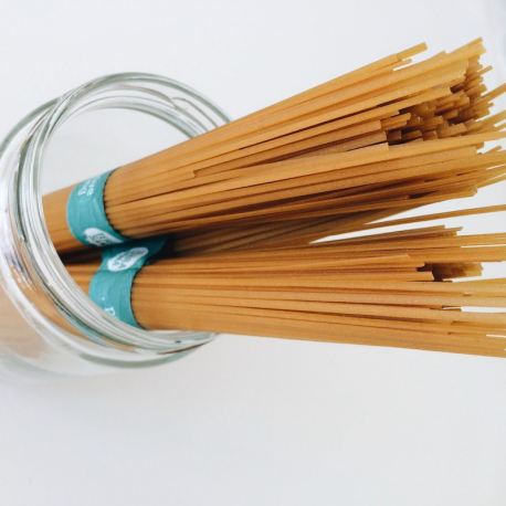 Nouilles riz-potiron-gingembre (bio) 250g, TERRASANA, Pâtes