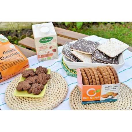LIMA Galettes de Riz Sarrasin Choco Coco 90g, Lima, Biscuits et