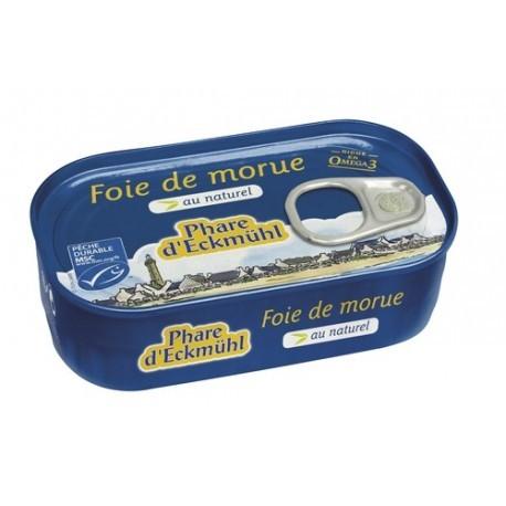 Foie de Morue 121g, Phare d'Eckmuhl, Poissons