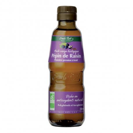 Huile de pépin de raisin (biologique) 250ml, Emile Noël, Huiles