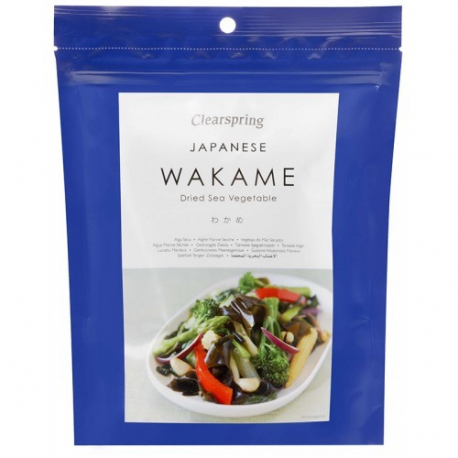 Wakame 50g, CLEARSPRING, Algues