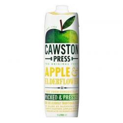 Cawston Jus de pomme sureau (sans sucre ajouté) 1L, Cawston,