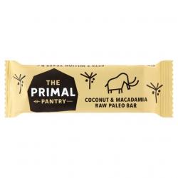 Primal Pantry Roh Bar Kokosöl & Macadamia-Nüsse 45g