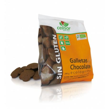 Soria biologische chocolade biscuits zonder gluten