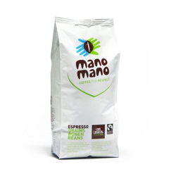 Koffiebonen mano mano (biologisch en fairtrade) 1kg,Koffie