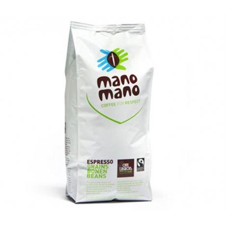 Café Grains Mano Mano (bio et équitable) 1kg, Café Liégeois,