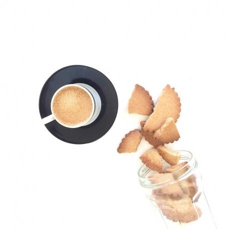 Almond and spelt shortbread 250g