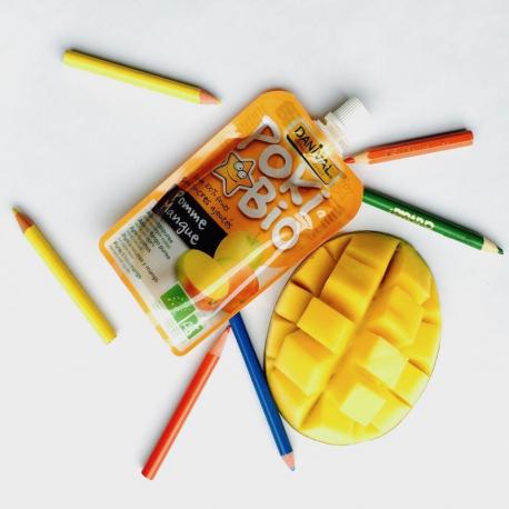 Appel-Mango Poki van Danival 4x90g,Compote en yoghurt