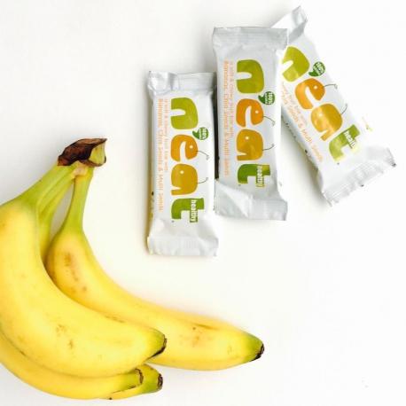 Neat Barre Fruitée Banane, Graines de Chia & Multi Graines 45g,