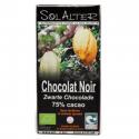 SolAlter - Chocolat 75% cacao 90g