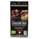 Chocolat 75% cacao/macadamia 90g, SOLALTER, Chocolats