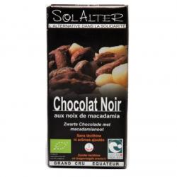 Schokolade 75% Kakao/Macadamia 90g