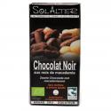 Chocolade 75% met macadamia noten  90g