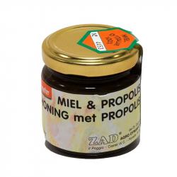 Miel à la propolis (4%) 130g, ZAD, Miels et sucrants naturels