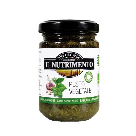 Pesto végétal sans fromage 130g, NUTRIMENTO, Anti pasti et