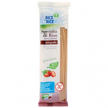 Spaghetti 100% riz complet 250g, RICE & RICE, Pâtes