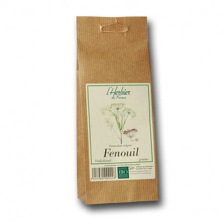 Graines de fenouil 50g, HERBIER DE FRANCE, Graines