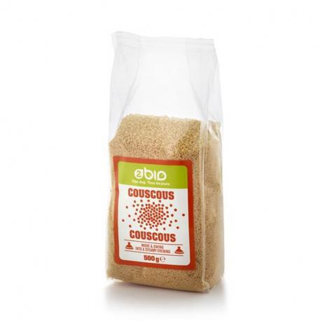 2bio Couscous Complet 500g, 2bio, Céréales