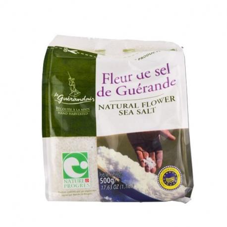 Fleur de sel de Guérande 500g, GUERANDAIS, Sels