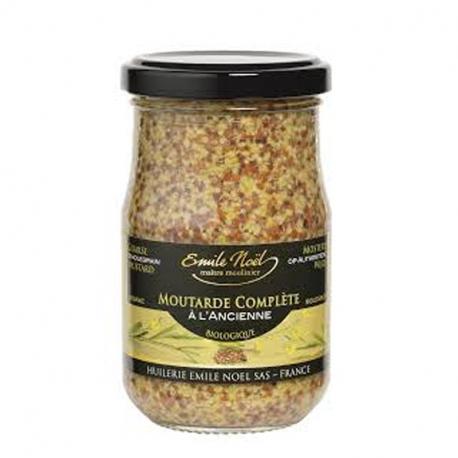 Moutarde ancienne avec grains 200g, Emile Noël, Vinaigres et