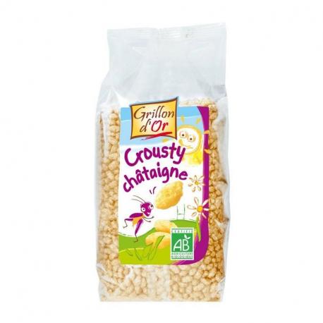 Crunchy tamme kastanje 300g,Ontbijt: vlokken en granen