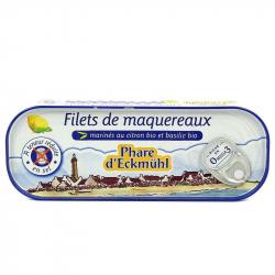 Makreelfilets citroen-basilicum biologisch 130g,Makreel