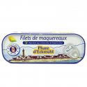 Phare d'Eckmuhl - Filets de maquereaux citron-basilic (bio) 130g