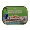 Sardines De Bretagne À L'Huile D'Olive 115g