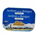 Phare d'Eckmuhl - Sardines naturel 135g