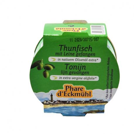 Thon Albacore huile d'olive 160g, Phare d'Eckmuhl, Thon