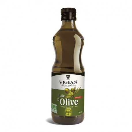 Huile d'olive fruitée (biologique) 500ml, Vigean, Huiles